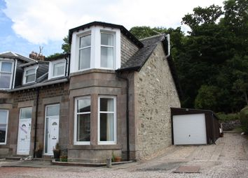 Thumbnail 3 bed end terrace house for sale in 12 Crosshill Villas, Rothesay, Isle Of Bute
