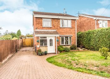 Thumbnail 3 bed detached house for sale in Sandpiper Close, Kidderminster