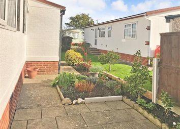 Thumbnail 2 bed mobile/park home for sale in Shenley Park, Shenley Corner, Ashford, Kent