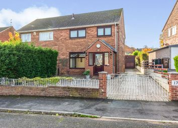 Thumbnail 3 bed semi-detached house for sale in Thackeray Avenue, Rawmarsh, Rotherham, South Yorkshire