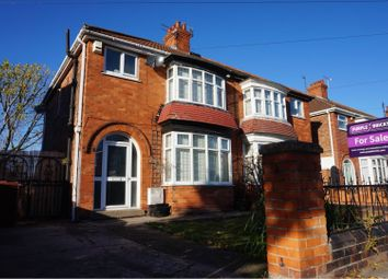 Thumbnail 3 bed semi-detached house for sale in Elliston Street, Cleethorpes