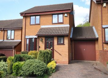 Thumbnail 3 bedroom detached house for sale in Tideswell Close, West Hunsbury, Northampton