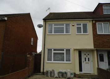 Thumbnail 3 bed semi-detached house to rent in Warwick Road, Rainham