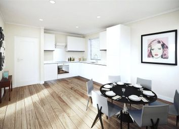 Thumbnail 2 bed flat for sale in Hyde House, Parkside, Furze Street, Bow