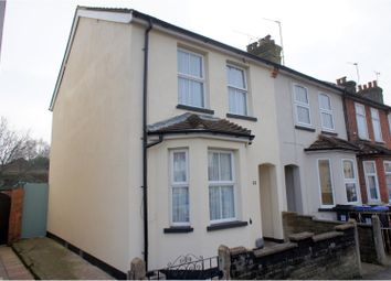 Thumbnail 3 bed end terrace house for sale in Arnold Road, Woking