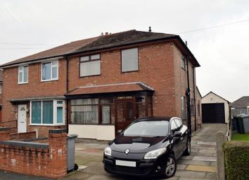 Thumbnail 3 bed semi-detached house to rent in Clover Road, Timperley, Altrincham