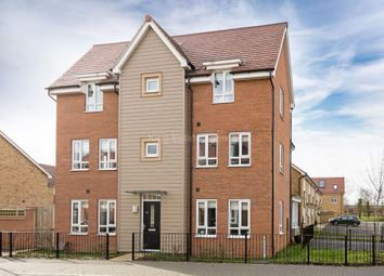 Thumbnail 3 bed semi-detached house for sale in Butter Row, Wolverton, Milton Keynes, Buckinghamshire