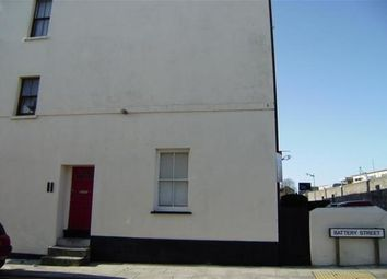 Thumbnail 1 bedroom flat to rent in Clarence Place, Stonehouse, Plymouth