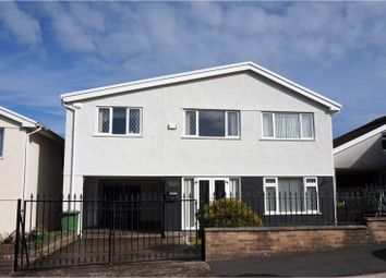 Thumbnail 5 bed detached house for sale in Heol Tir Coch, Pontypridd