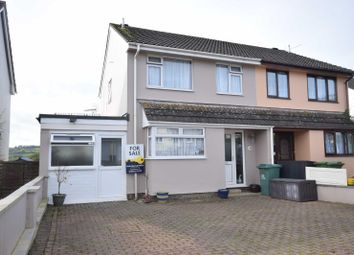 Thumbnail 3 bed semi-detached house for sale in Lower Burwood Road, Torrington, Devon