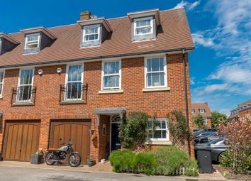 Thumbnail 4 bedroom town house for sale in Miller Close, Redbourn, St.Albans