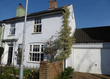 Thumbnail 4 bedroom semi-detached house for sale in Rose Cottage, 38 Ditchingham Dam, Bungay