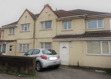 Thumbnail 4 bed semi-detached house for sale in Ilminster Avenue, Knowle, Bristol