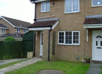 Thumbnail 2 bed end terrace house to rent in Ryton Close, Bedford