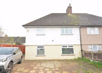 Thumbnail 3 bedroom semi-detached house to rent in Poynder Road, Tilbury, Essex