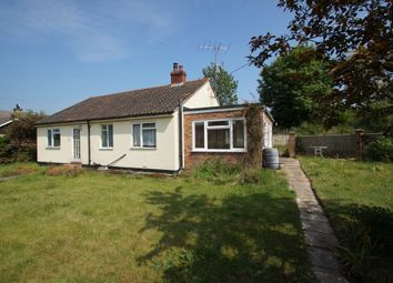 Thumbnail 3 bedroom detached bungalow for sale in Low Road, Friston, Saxmundham