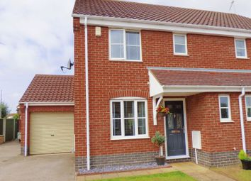 Thumbnail 3 bed semi-detached house for sale in Porthole Close, Carlton Colville, Lowestoft