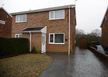Thumbnail 2 bed semi-detached house to rent in Tyn Y Cae, Pontardawe, Swansea.