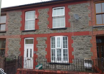Thumbnail 3 bedroom terraced house to rent in Dyfodwg Street, Treorchy