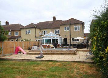 Thumbnail 5 bed semi-detached house for sale in Marlborough Gardens, Cranham, Upminster