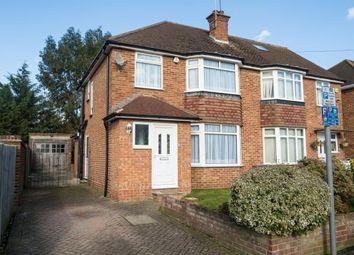 Thumbnail 3 bed property to rent in Bradshawe Way, Uxbridge, Middlesex