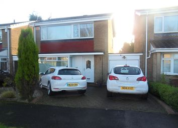 Thumbnail 3 bedroom detached house for sale in Norham Close, Wideopen, Newcastle Upon Tyne