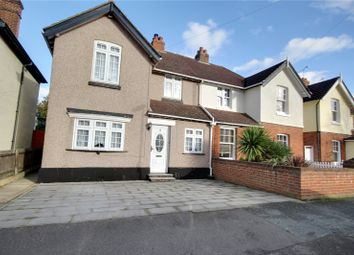 Thumbnail 3 bed semi-detached house for sale in Esher Avenue, Walton-On-Thames, Surrey