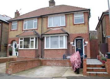 Thumbnail 3 bed semi-detached house for sale in Manor Road, Maxton, Dover, Kent