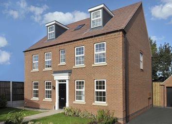 "Thumbnail 5 bed detached house for sale in ""Buckingham"" at Harbury Lane, Heathcote, Warwick"