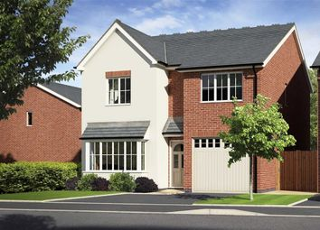 Thumbnail 4 bed detached house for sale in Plot 28, Meadowdale, Barley Meadows, Llanymynech, Shropshire