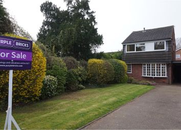 Thumbnail 3 bed link-detached house for sale in Chester Close, Lichfield