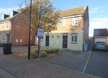 Thumbnail 2 bed end terrace house to rent in Newbury Crescent, Bourne