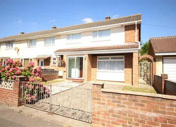 Thumbnail 3 bedroom end terrace house for sale in Pakenham Road, Park South, Swindon