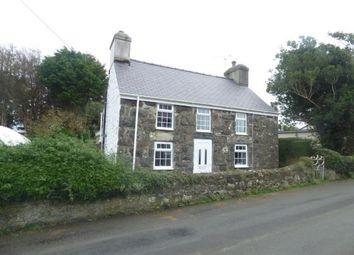 Thumbnail 2 bed detached house for sale in Lon Fawr, Edern, Pwllheli, Gwynedd