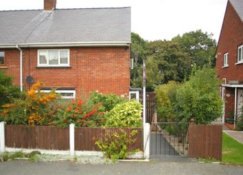 Thumbnail 3 bed end terrace house for sale in Ffordd Ddyfrdwy, Mostyn, Holywell, Flintshire