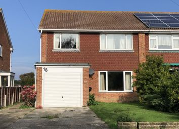 Thumbnail 4 bed semi-detached house to rent in Charleston Close, Hayling Island
