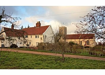 Thumbnail 3 bed detached house for sale in Church Road, Kettleburgh, Woodbridge