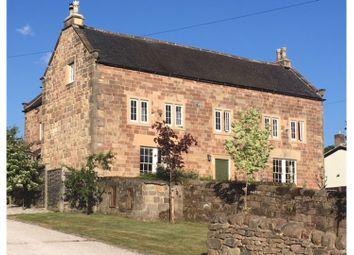 Thumbnail 5 bed farmhouse for sale in Rood Lane, Idridgehay Belper
