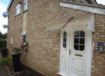 Thumbnail 2 bed maisonette for sale in Buckfast Close, Evington, Leicester