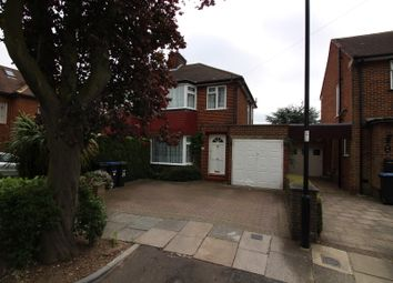 Thumbnail 3 bed semi-detached house to rent in Netherby Gardens, Enfield