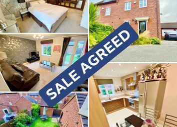 Thumbnail 4 bed semi-detached house for sale in Anglian Way, New Stoke Village, Coventry