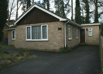 Thumbnail 2 bedroom detached bungalow for sale in Highclere, Sunninghill, Ascot
