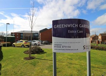 Thumbnail 2 bed flat for sale in Greenwich Gardens, 34 Greenwich Drive North, Mackworth, Derby
