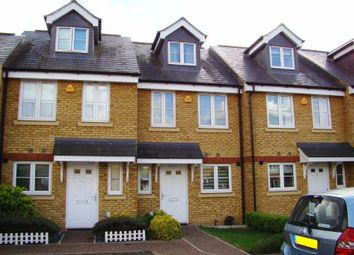 Thumbnail 4 bed town house for sale in Egmont Mews, Ewell, Epsom