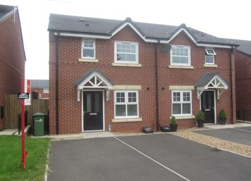 Thumbnail 3 bed semi-detached house for sale in Hawthorn Close, Shavington, Crewe