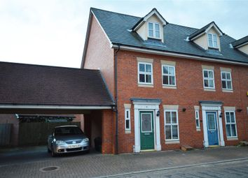 Thumbnail 3 bedroom end terrace house to rent in Hatcher Crescent, Colchester