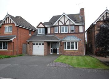 Thumbnail 4 bedroom detached house to rent in Bramling Cross Road, Burton Upon Trent, Staffordshire