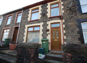 Thumbnail 3 bed terraced house for sale in Cilhaul Terrace, Mountain Ash