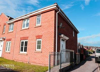 Thumbnail 3 bed end terrace house for sale in Sunningdale Way, Gainsborough, Lincolnshire
