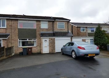 Thumbnail 4 bed semi-detached house for sale in Hollin Drive, Chapel-En-Le-Frith, High Peak